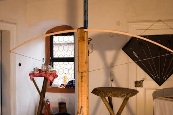 Bogenbauseminar - Tillern eines Holzbogens